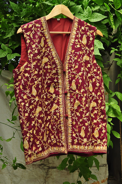 Kotsa   Women Silk Jacket   Casual Silk Jacket   Silk Designer Jacket   KVJ24