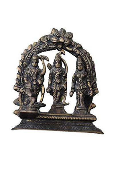 Kotsa | Rama Family Sculpture | Rama God Statue | Rama Sitting Statue | VH11