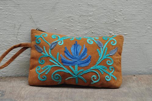 Kotsa   Women Leather Handbag   Kashmiri Women Handbag   Tote Leather Bag   VB10