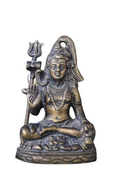 Kotsa   Shiva Sculpture   Shiva God Statue   Shiva Sitting Statue   VH08