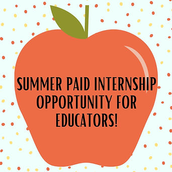 Summer Paid Internship Opportunity for E