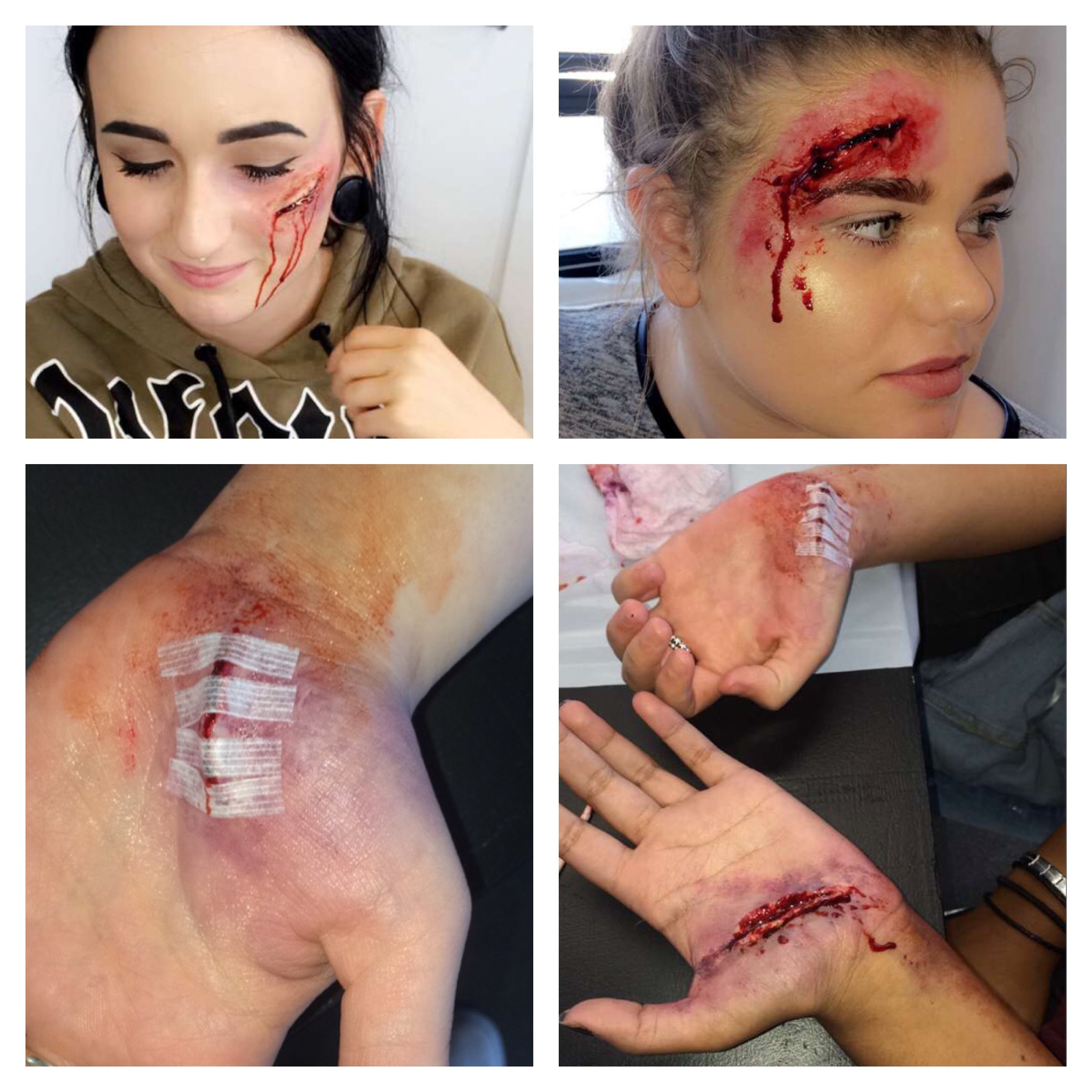 Special Effects Injury makeup WORKSHOP