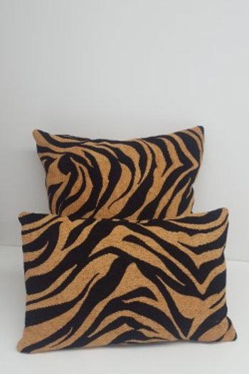 Housse de coussin motif tigre12po x 18po ou 18po x 18po