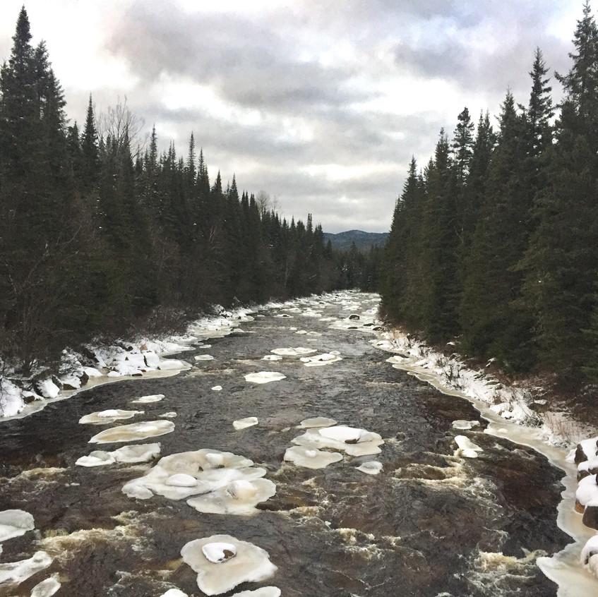 Nice wintery looking river