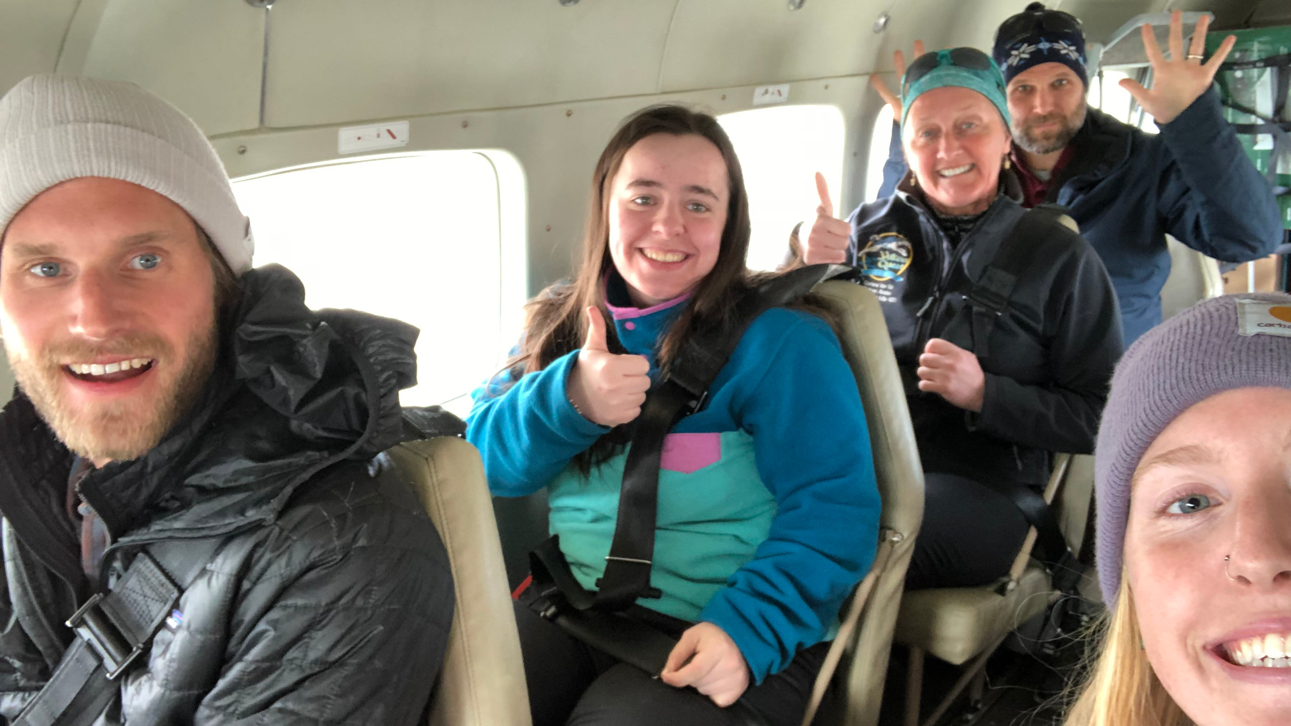 NANANordic Coaches - excited to be en route to our village!