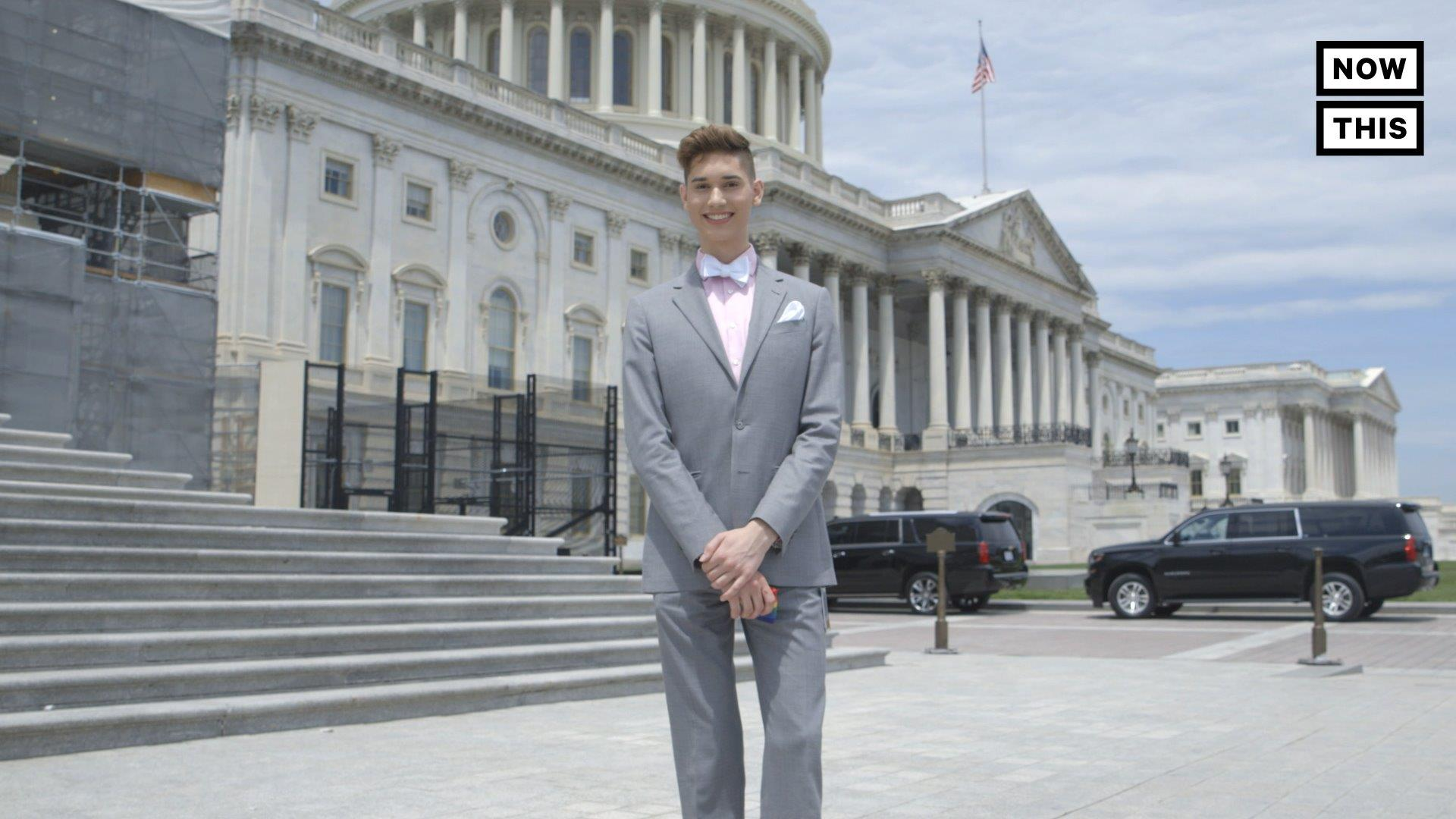 LGBTQ+ Activist and Congressional Intern Seth Owen Witnessed Passage of Historic Equality Act