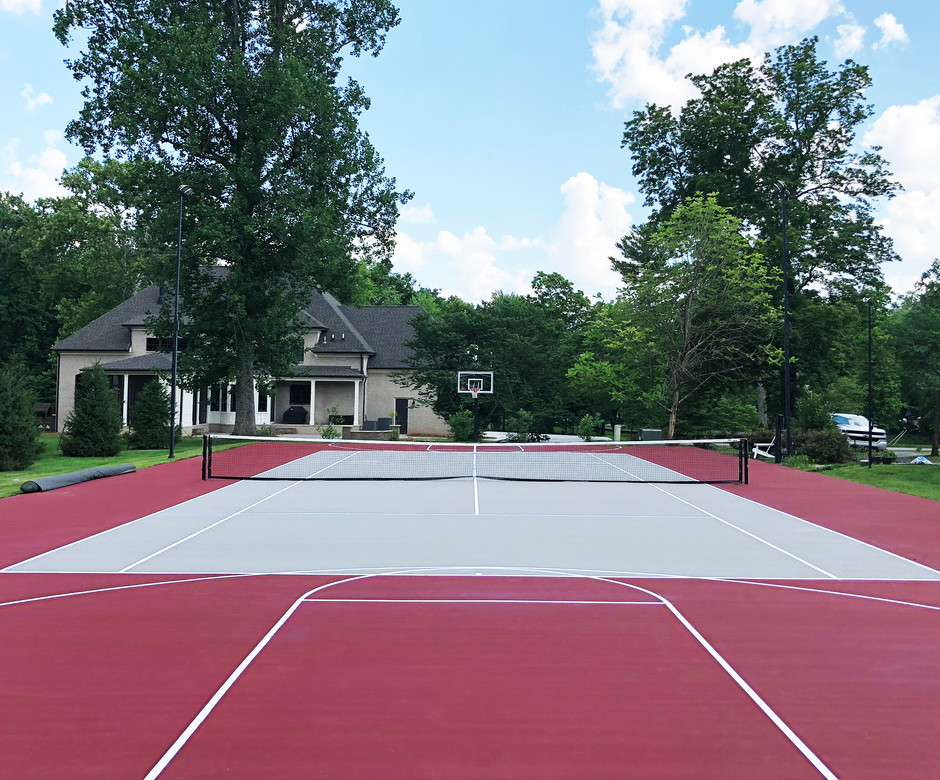 SPORTS COURT - ADD YEARS OF LIFE TO THE COURTS.