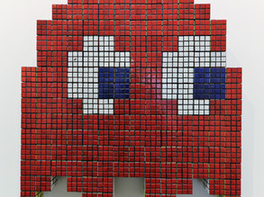 Game On!  The Art of Invader at the Taglialatella Gallery