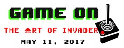 GAME ON! The Art of Invader May 11, 2017