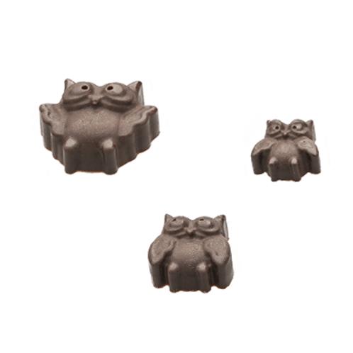 Bufnite de ciocolata cu visine