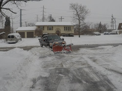 Apartment Complex snow removal