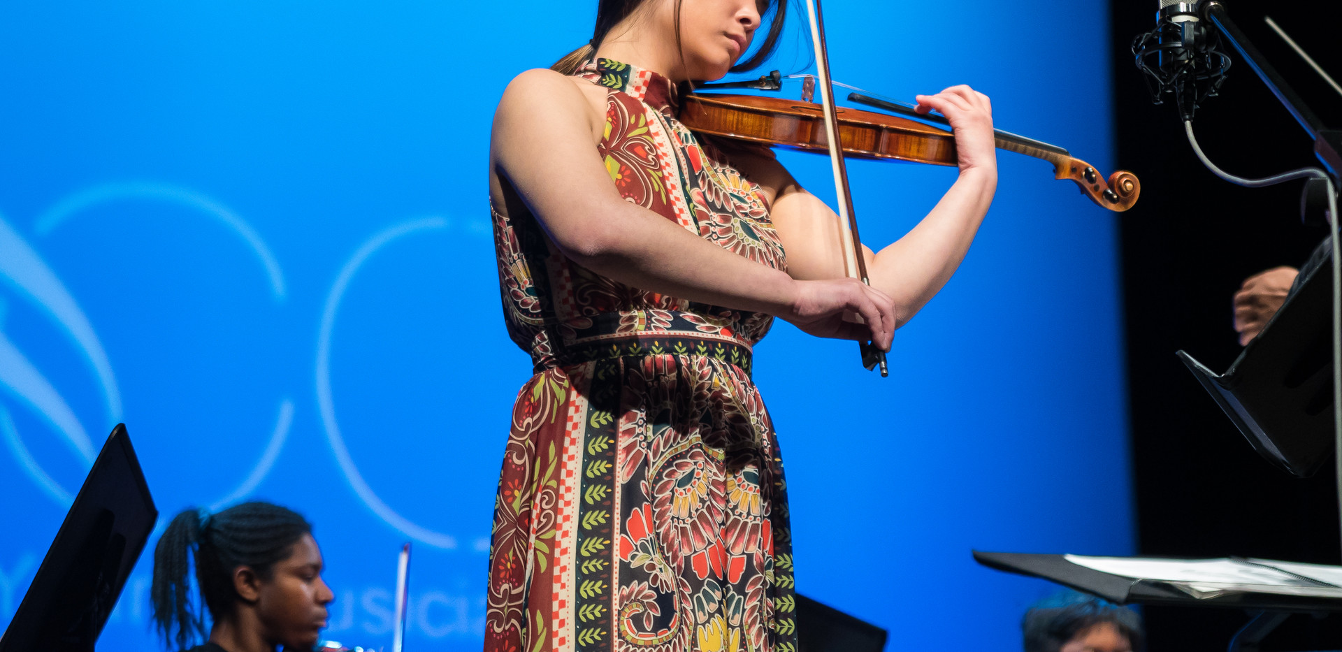 YMCO Graduate Asuka Yanai performing the Barber Violin Concert from memory!