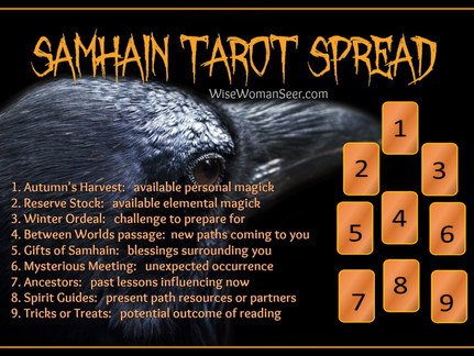Samhain Reading Ritual for Grounded, Centered, Shielded Solitaries