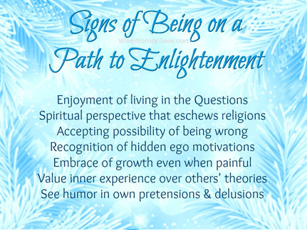 7 Things You Can Do to Be on Your Path to Enlightenment