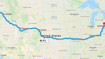 Lessons of a 2700 Mile Journey