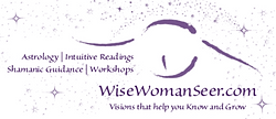 Image of WiseWomanSeer owl logo as Facebook page cover