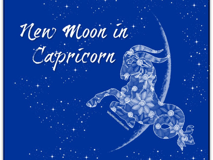 First New Moon of 2018 Celebrates Grounded Transformation