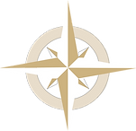Imag of a compass used as SanCapLaw logo