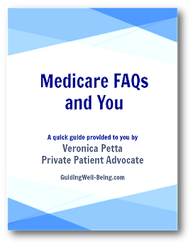 Cover image for Veronica Petta's Medicare FAQs and You quick guide