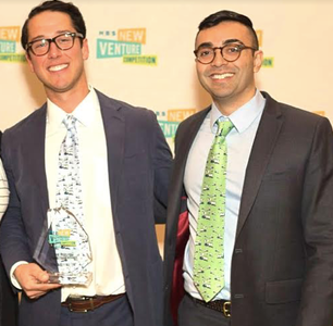 Philip Lang ('09) and David Walker ('11), co-founders of TripleMint.