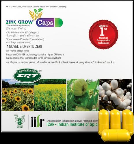 Zinc Grow Caps