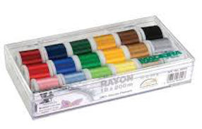 Rayon Madeira, A to Z vac n sew