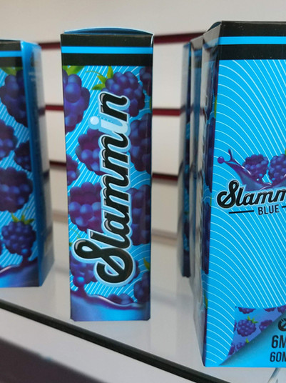 Slammin blue - 60 ml