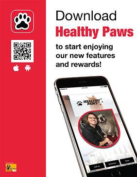 healthy paws reward app