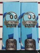 Salt Factory Blue Razz