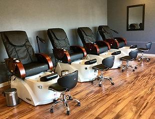 Visible Changes Salon, shellac, manicure, paraffin, waxing, pedicures, eyelash tinting