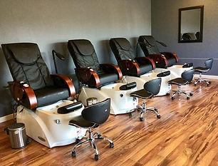 Pedicure, manicure, waxing, Visible Changes salon