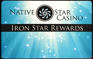 native star casino, iron star rewards card
