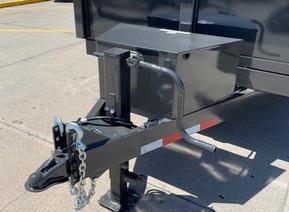 2022 Global Equipment Company HD 14' Bumper Pull Dump Trailer