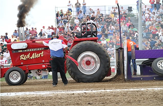 Thunder by the river, tractor pull wisner