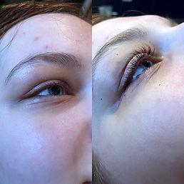 eyelash lift, eyelash tint, tanning norfolk, visible changes norfolk