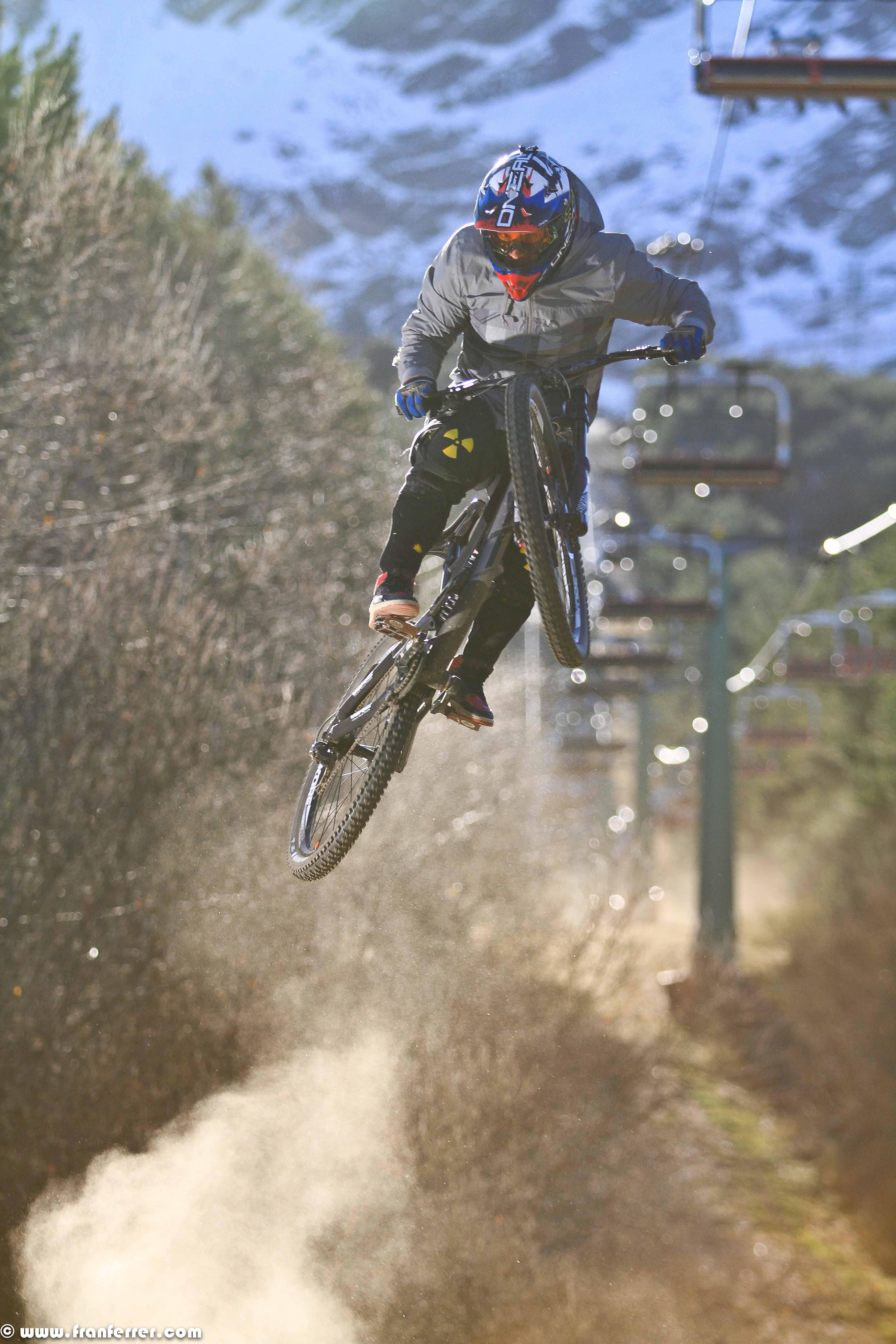 rider La Pinilla Bike Park 2016