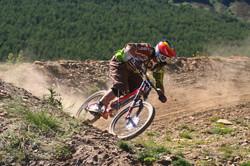 rider La Pinilla Bike Park 2013