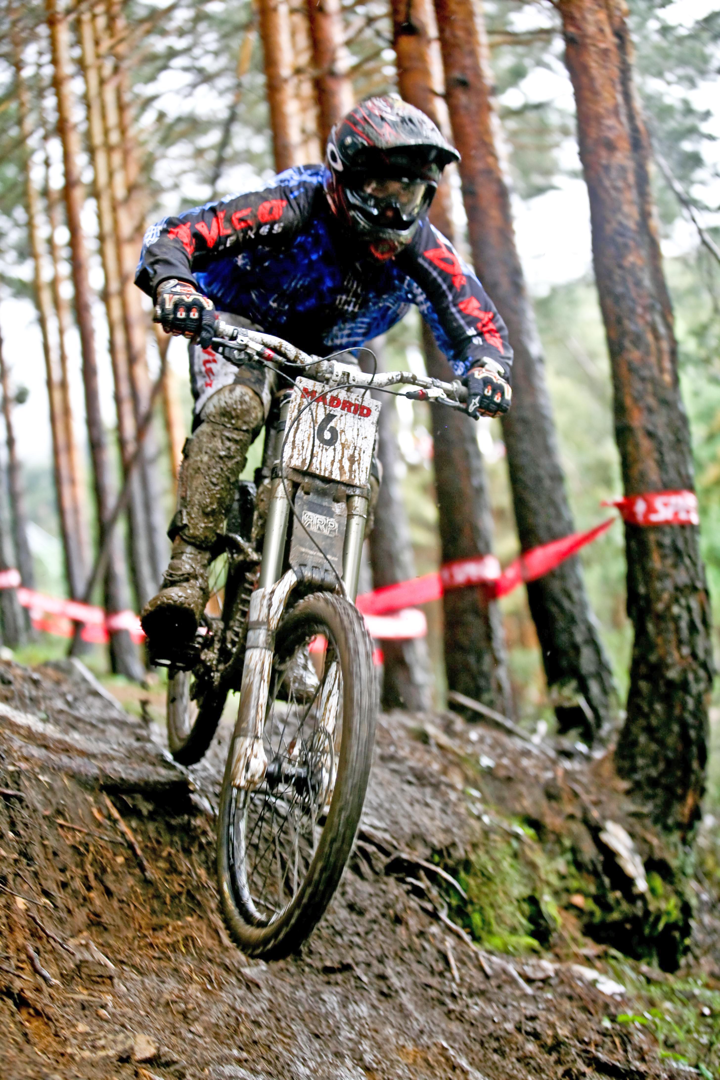 rider La Pinilla Bike Park 2010