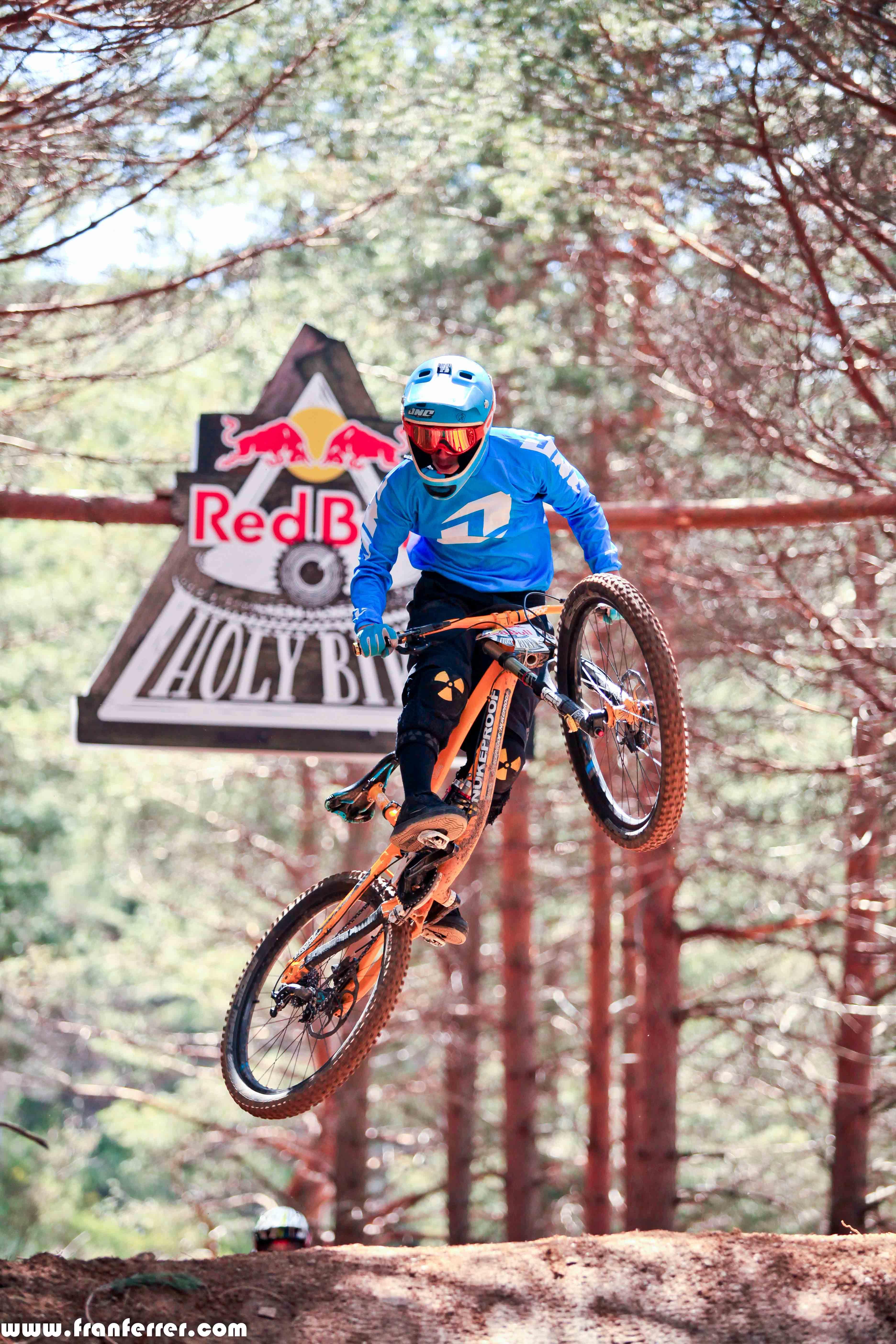 rider La Pinilla Bike Park 2015
