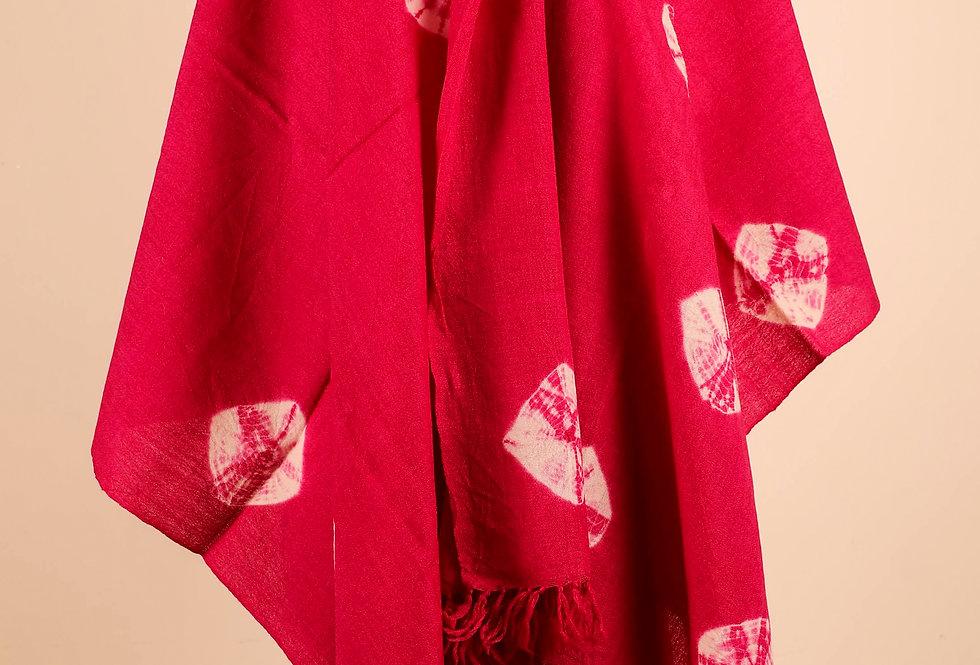 Tie Dye Pink Stole
