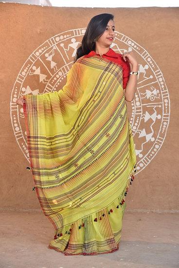 Bhujodi Handwoven Saree