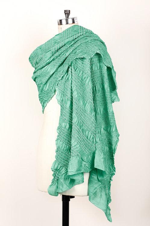 Aqua Green Bandhani