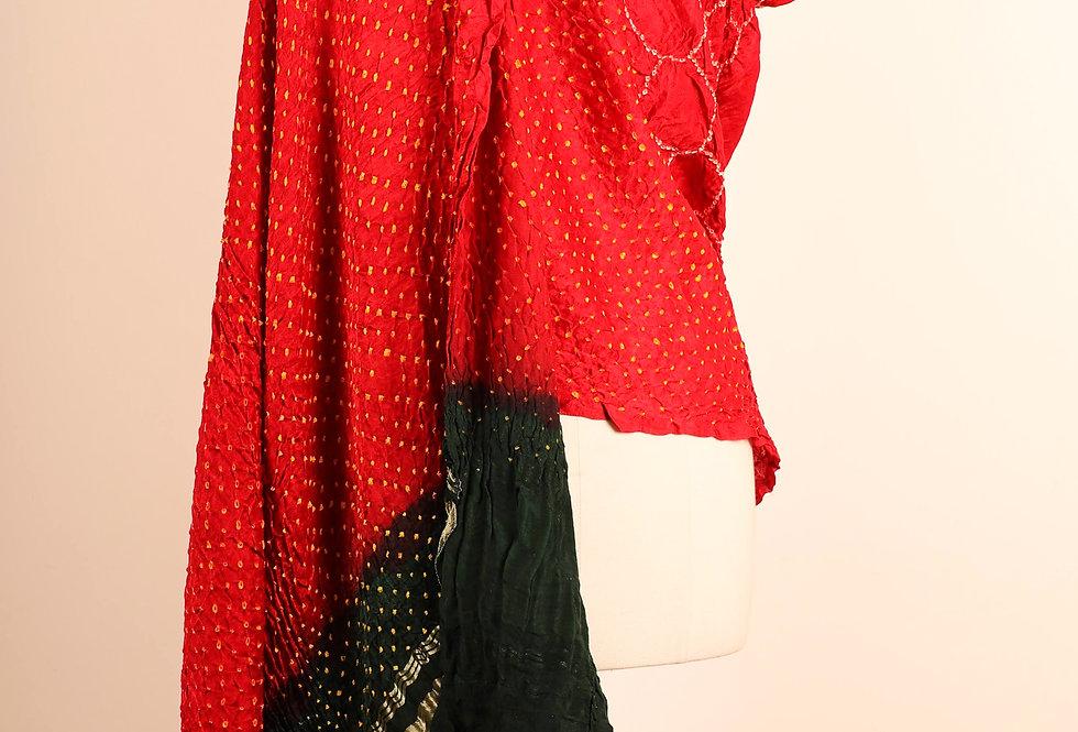 Gazzi Silk Bandhani