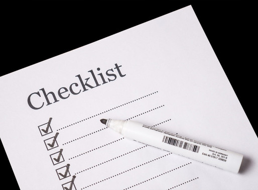 Checklist of Estate Planning Essentials
