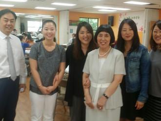마르다 선교회 - 중국 선교비 전달