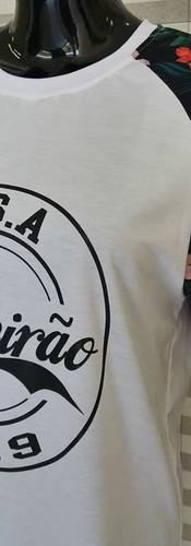Camiseta Terceirão Floral