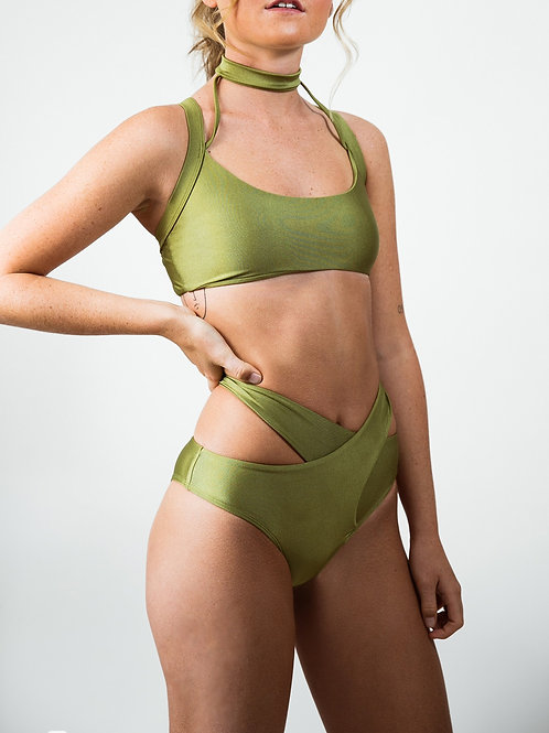 Abraccio Bottoms - Khaki Green