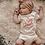 Thumbnail: Organic Cotton Baby Onsie- Girl Power