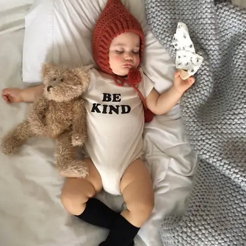 Organic Cotton Baby Onsie- Be Kind