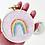 Thumbnail: Mini Rainbow Hoop Art